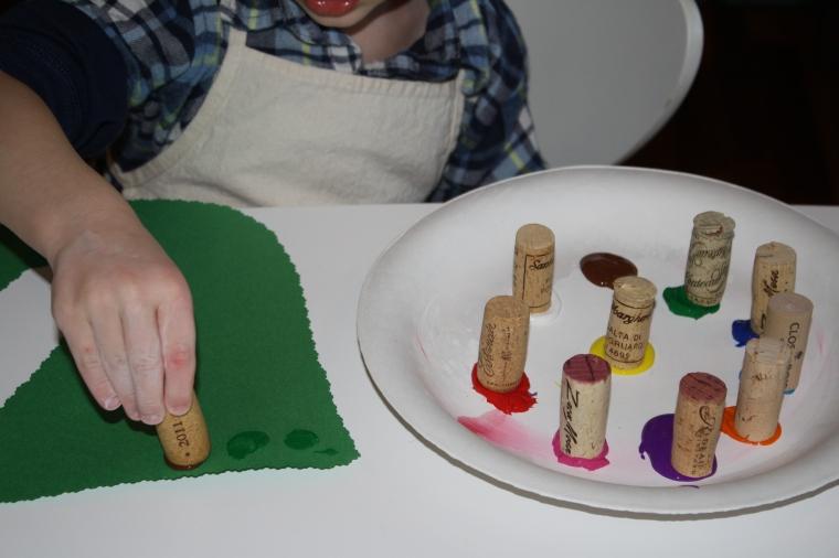 cork painting