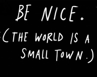 Be Nice, Be Tolerant | The Fairly Good Mother