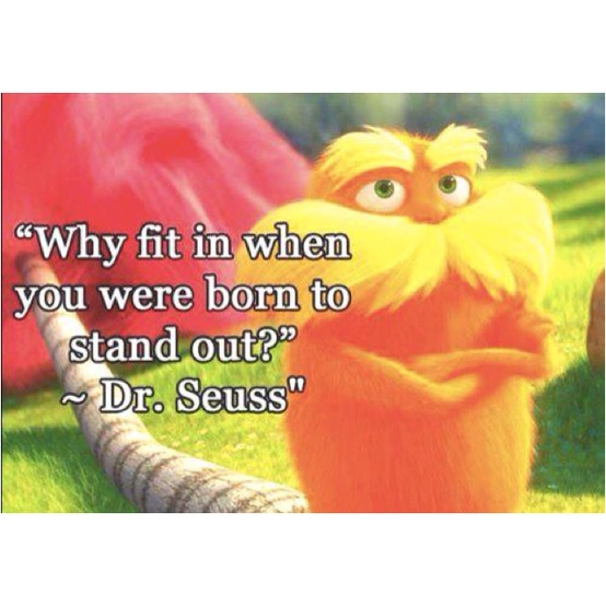born to stand out suess