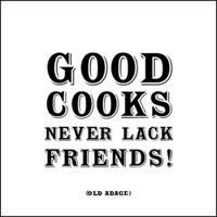 good cooks | The Fairly Good Mother