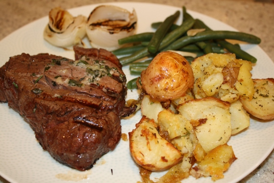 Grilled Filet Mignon | The Fairly Good Mother