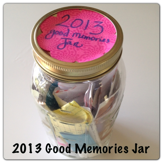 The Good Memories Jar