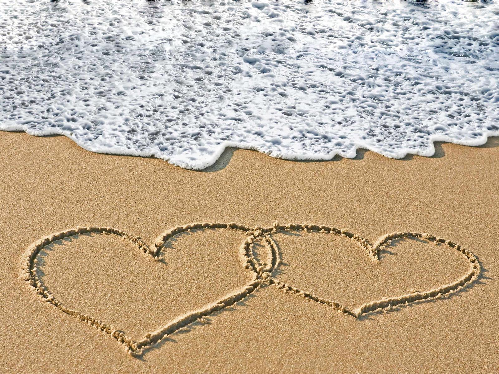 beach moments heart love - photo #32