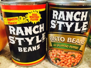 Ranch Style Beans : Essential!